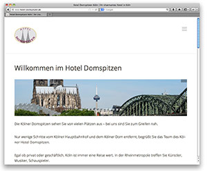 Hotel Domspitzen